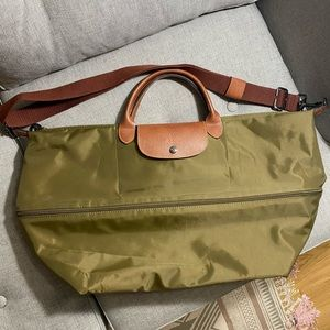Longchamp Le Pliage Expandable Travel Duffle